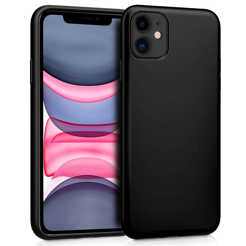 funda-silicona-iphone-11-negro