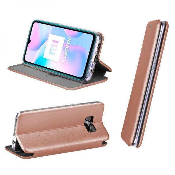 funda-flip-cover-xiaomi-redmi-9a-9at-elegance-rose-gold (1)